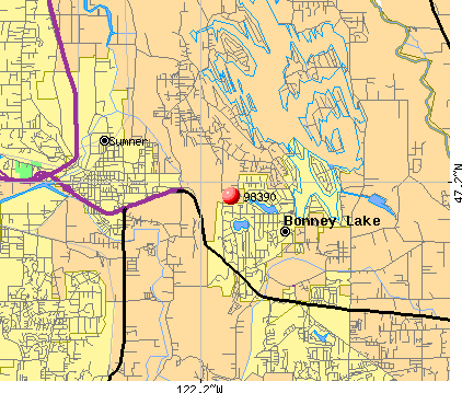 Sumner, WA (98390) map