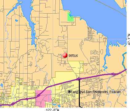 Lacey, WA (98516) map