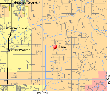 Hockinson, WA (98606) map