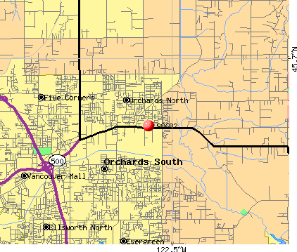 Vancouver, WA (98682) map