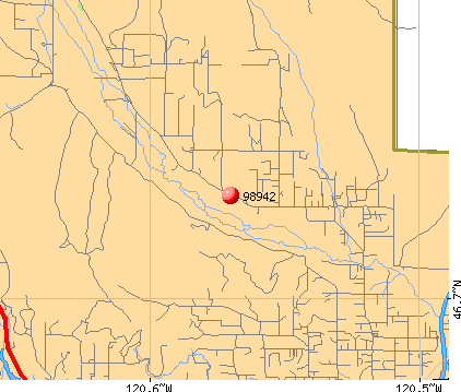 Selah, WA (98942) map