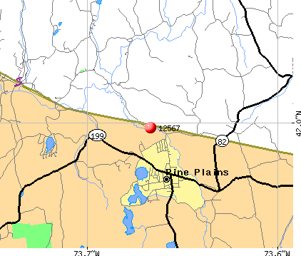 Pine Plains, NY (12567) map