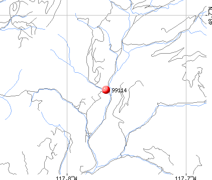 Colville, WA (99114) map