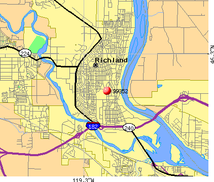 Richland Washington Map