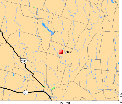 Rome, NY (13471) map