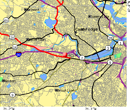, MA (02134) map