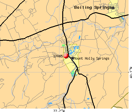 Mount Holly Springs, PA (17065) map
