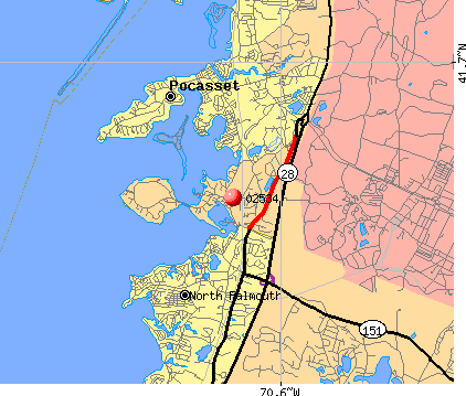 , MA (02534) map