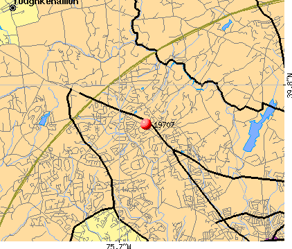 Hockessin, DE (19707) map