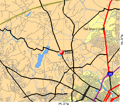 Greenville, DE (19807) map