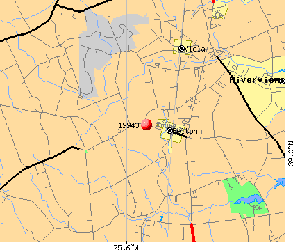 Riverview, DE (19943) map