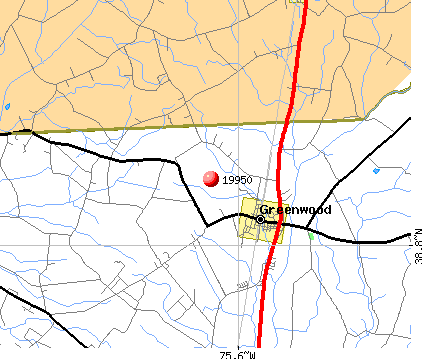 Greenwood, DE (19950) map