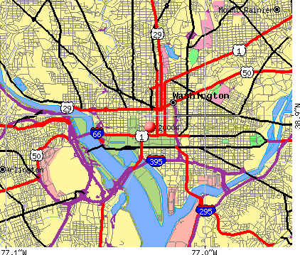Washington, DC (20004) map