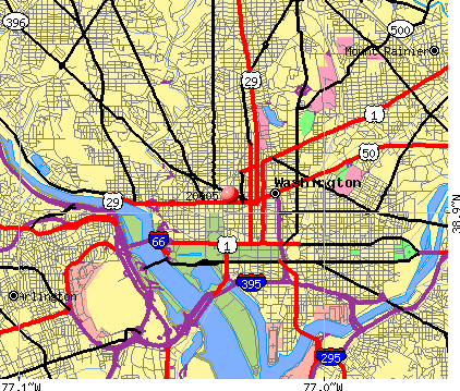 Washington, DC (20005) map