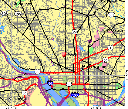 Washington, DC (20009) map