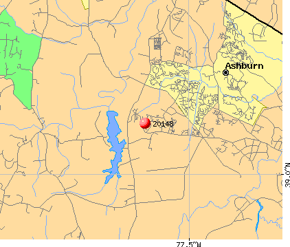 Brambleton, VA (20148) map