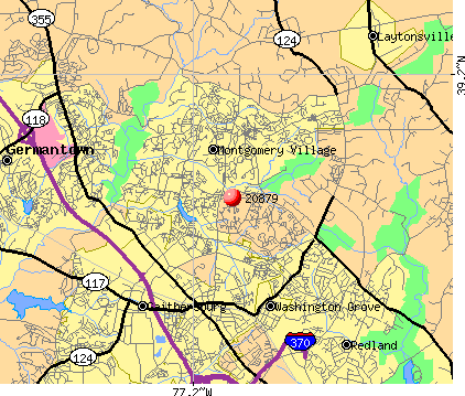 Gaithersburg, MD (20879) map