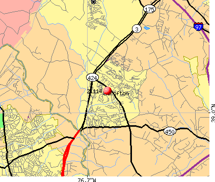 Crofton, MD (21114) map
