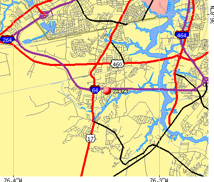 Chesapeake, VA (23323) map
