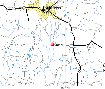 Kenbridge, VA (23944) map