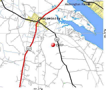 Washington, NC (27817) map