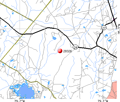 Cameron, NC (28326) map