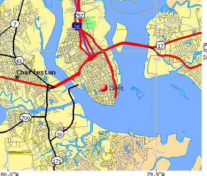 29401 Zip Code Charleston South Carolina Profile