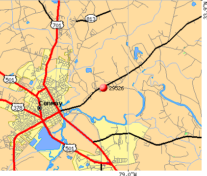 Zip Code Conway South Carolina Profile Homes - Accident on us 701 conway sc map
