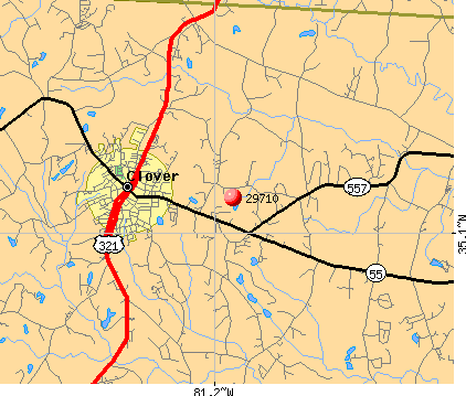 Lake Wylie, SC (29710) map