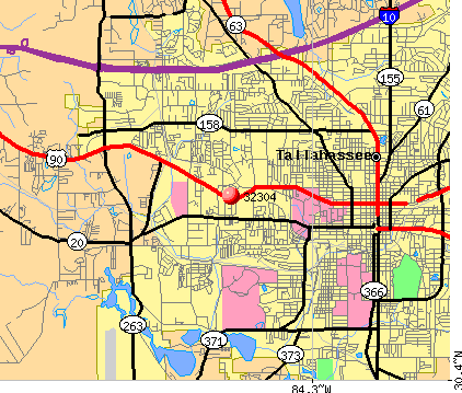 Tallahassee, FL (32304) map