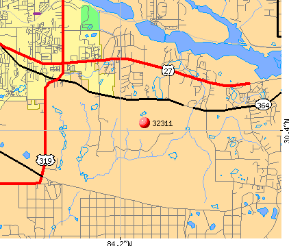 Tallahassee, FL (32311) map