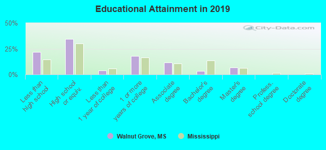 Educational Attainment in 2016