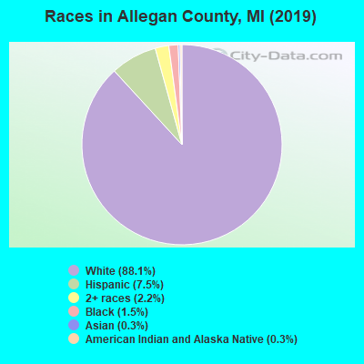 Allegan County races chart