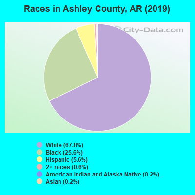 Ashley County races chart