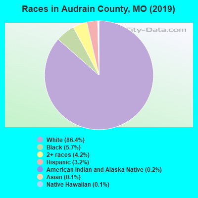 Audrain County races chart