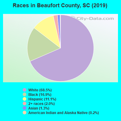 Beaufort County races chart