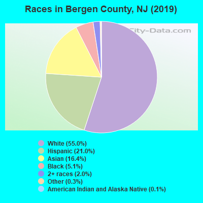 Bergen County races chart