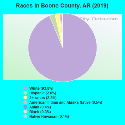 Boone County races chart