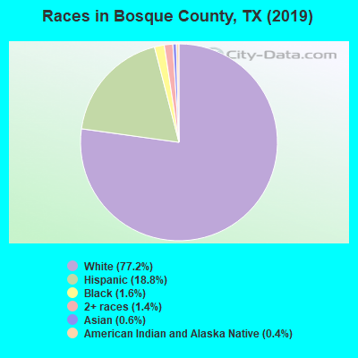 Bosque County races chart