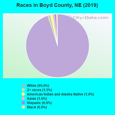 Boyd County races chart