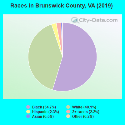 Brunswick County races chart
