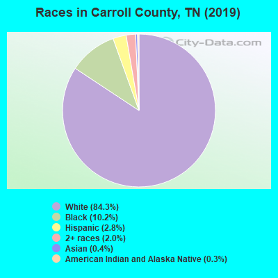 Carroll County races chart