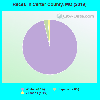 Carter County races chart