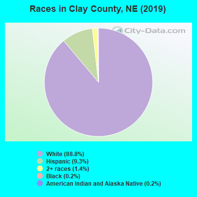 Clay County races chart