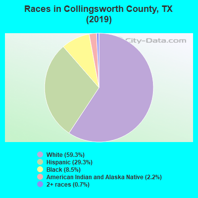 Collingsworth County races chart