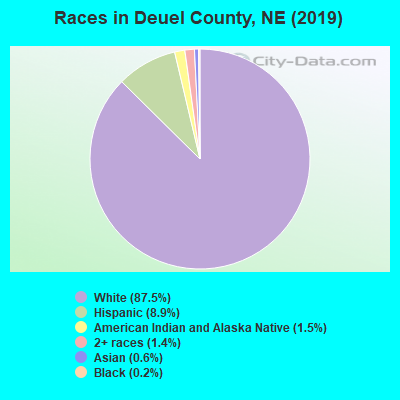 Deuel County races chart