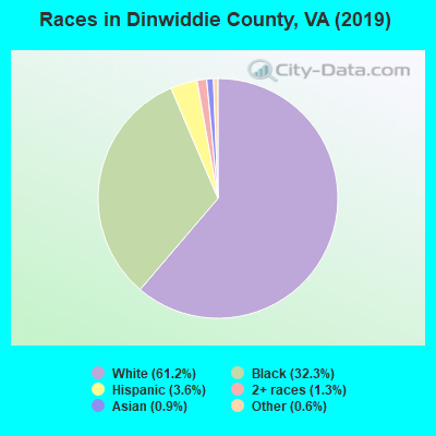 Dinwiddie County races chart