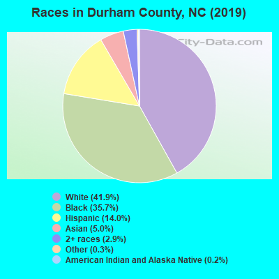 Races in Durham County, NC (2017)