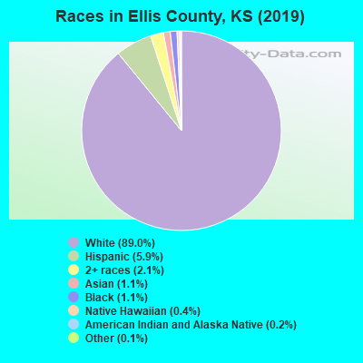 Ellis County races chart
