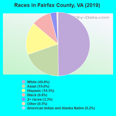 Fairfax County races chart